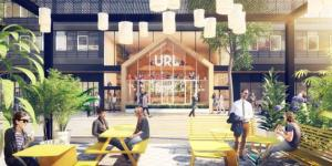 Renderings of URL, a new rental complex on Staten Island